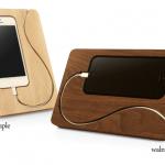 スティーブ・ジョブズもびっくり?!Appleファン必見の木製アイテム